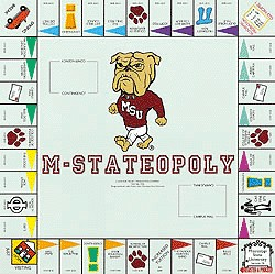 M-StateOpoly Monopoly Style Board Game