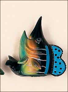 Marlin Fish Antenna Topper
