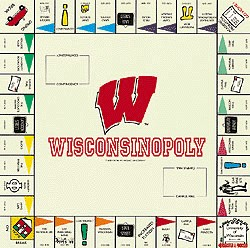 WisconsinOpoly Monopoly Style Board Game