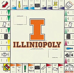 IllinioOpoly Monopoly Style Board Game