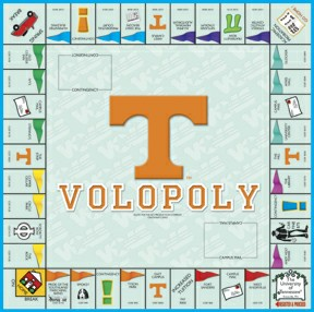 Volopoly Tennessee Opoly Board Game
