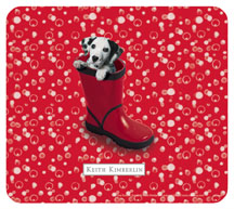 Keith Kimberlin Dalmation Puppy Mousepad