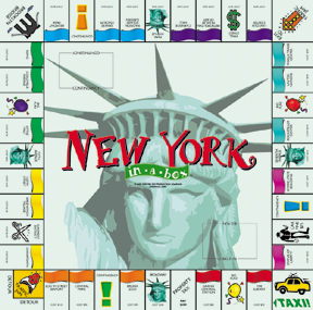 New York in a Box Board Game
