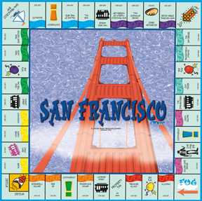 San Francisco in a Box Board Game