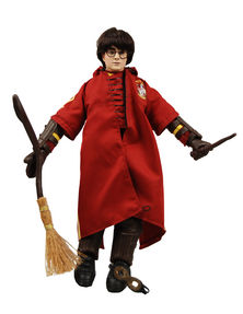 "Harry Potter Harry in Quidditch Robes 12"" Plush Doll"
