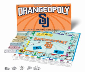 Orangeopoly Syracuse University Monopoly Game