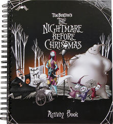 The Nightmare Before Christmas Activity Book