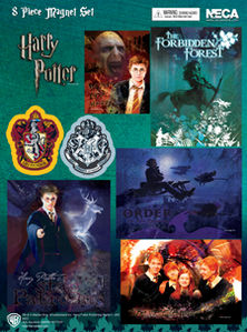 Harry Potter Magnet Sheet (8 Pieces)