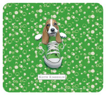 Keith Kimberlin Bassett Hound Puppy Mousepad
