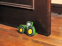 John Deere Childrens Tractor Door Stop