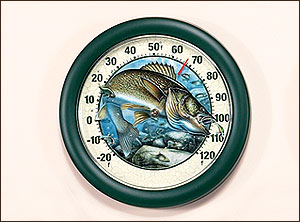 Sportsman Clocks & Thermometers