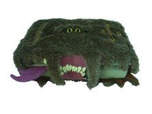 "Harry Potter Monster Book of Monsters 9 1/2"" x 11"" Plush"
