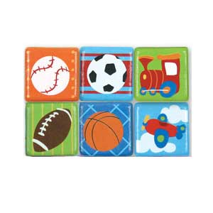 Stephen Joseph Small Talk Sports & Misc. Magnets (boy)-Discontinued