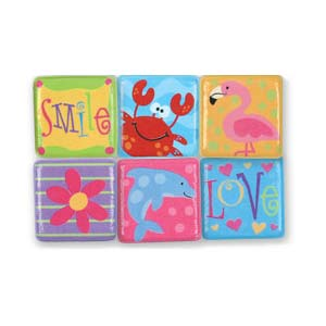 Stephen Joseph Small Talk Punctuation Magnets (word & animal)-Discontinued