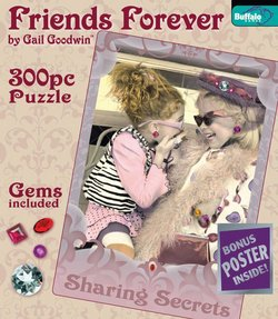 Sharing Secrets Friends Forever 300 Piece Puzzle by Gail Goodwin