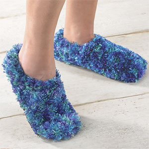 Fuzzy Footies Slippers for Kids and Adults