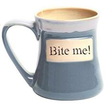 Bite Me! Oversized Coffee Mug