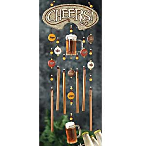 Encore Drink Beer Wind Chime