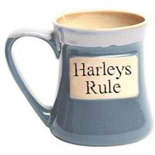 Harleys Rule Oversized Coffee Mug