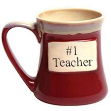 #1 Teacher Oversized Mug