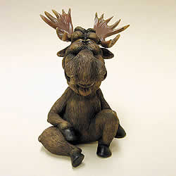 Moose Funny Bobblehead Animal