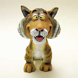 Tiger Funny Bobblehead Animal by Swibco