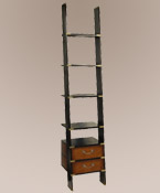 Library Ladder Bookcase