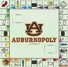 Auburnopoly Board Game
