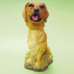 Golden Retriever Bobblehead Dog