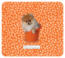 Keith Kimberlin Pomeranian Puppy Mousepad
