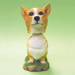 Pembroke Welsh Corgi Bobblehead Dog
