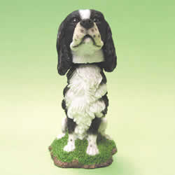 Springer Spaniel Bobblehead Dog