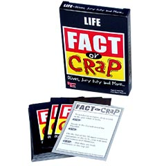 Fact or Crap Cards Life