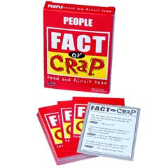 Fact or Crap Cards - People