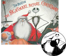 The Nightmare Before Christmas Re-Issue Book