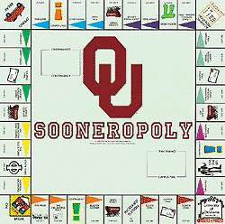 Sooneropoly Oklahoma Opoly Board Game