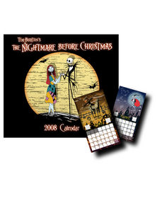 The Nightmare Before Christmas Dry Erase Calendar