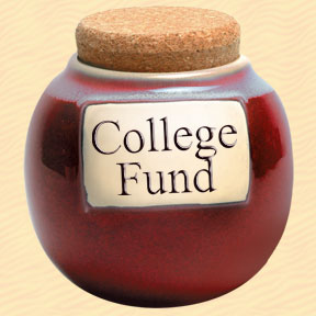 Tumbleweed College Fund Classic Word Jar