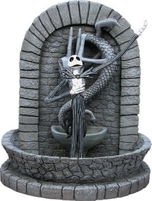 The Nightmare Before Christmas Figural Fountain