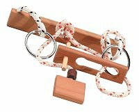 IQ Collection Shackle Wooden Puzzle