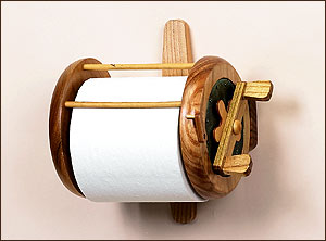 Bathroom Fishing Reel Toilet Paper Holder