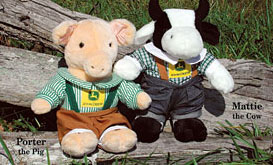 John Deere Plush Animals