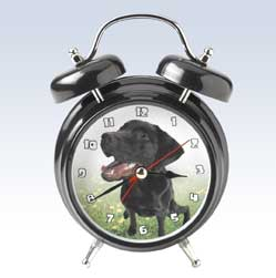 Wacky Wakers - Black Lab Alarm Clock