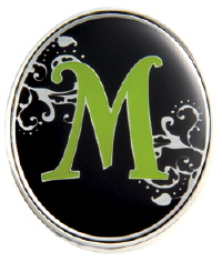 """M"" Monogrammed Key Finder - Finders Key Purse"