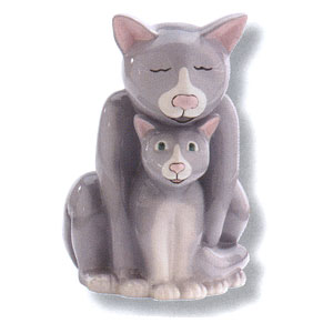 Waxcessories Save a Hug Cats Ceramic Bank