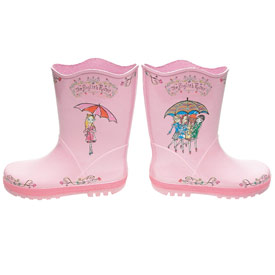 Fun Kidorable Characters Rain Boots