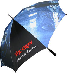 The Crow Can't Rain All the Time Umbrella