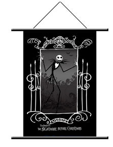 The Nightmare Before Christmas Jack and Friends Wall Scroll