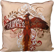 "Harry Potter Fawkes 14"" x 14"" Decorative Throw Pillow"