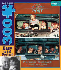 Coming and Going Norman Rockwell: Saturday Evening Post 300 Large Piece Puzzle